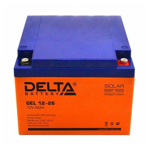 Аккумулятор Delta GEL 12-26 аккумулятор delta battery gel 12 55