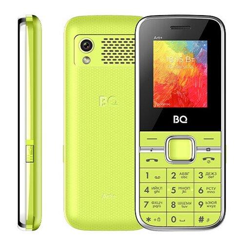 Сотовый телефон BQ 1868 ART+ Green сотовый телефон bq 3590 step xxl black green