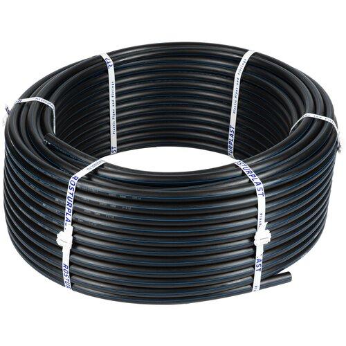 Труба ПНД 20 мм x 2 мм x 25 метров водопроводная питьевая напорная ПЭ100, PN16, SDR 11