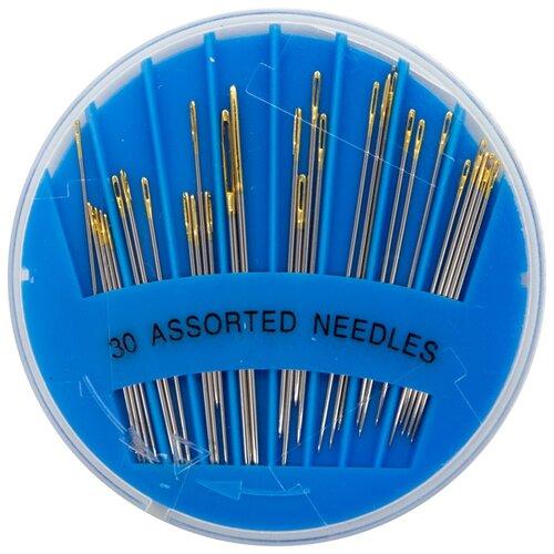 120110/g Иглы для шитья и рукоделия 'Ассорти', упак./30 шт., Hobby&Pro 5 упак