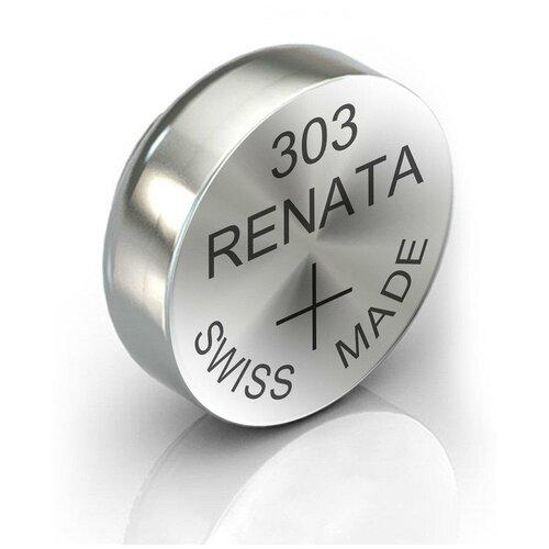 Фото - Батарейка RENATA R 303, SR44SW 1 шт. батарейка renata r 384 sr41sw 1 шт