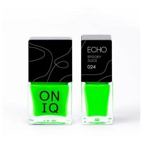 Профессиональный лак для стемпинга. 024 Echo: Spooky Juice, 10 мл oniq лак для стемпинга echo play cold