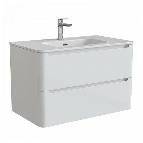 Фото - Тумба для ванной комнаты с раковиной IDDIS Edifice 60/80, ШхГхВ: 80х47х50 см, цвет: белый тумба для ванной комнаты с раковиной am pm like напольная шхгхв 80х45х85 см цвет белый глянец
