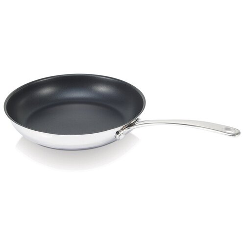 Сковорода Beka Belvia 13517294, 28 см, серебристый сковорода d 24 см kukmara кофейный мрамор смки240а