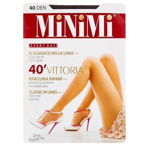 Фото - Колготки MiNiMi Vittoria, 40 den, размер 3-M, fumo (серый) колготки minimi vittoria 20 den размер 4 l fumo серый