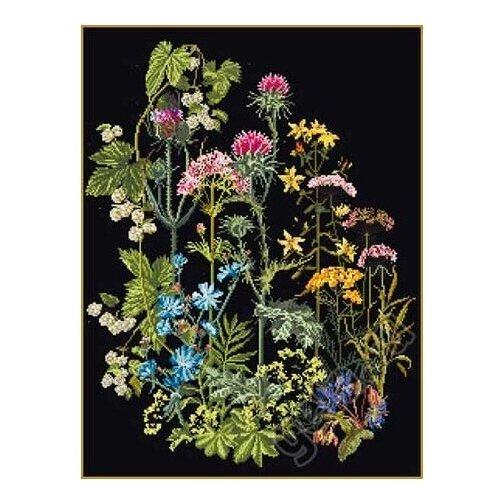 Купить Thea Gouverneur Набор для вышивания Травы 35 х 46 см (424.05), Наборы для вышивания