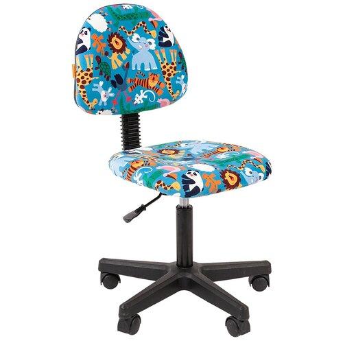 Фото - Компьютерное кресло Chairman Kids 104 детское, обивка: текстиль, цвет: зоопарк компьютерное кресло chairman kids 101 детское обивка текстиль цвет монстры