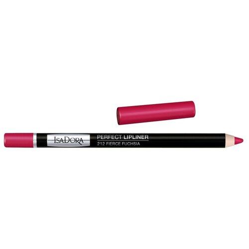 Купить IsaDora Карандаш для губ Perfect Lipliner 212 Fierce Fuchsia