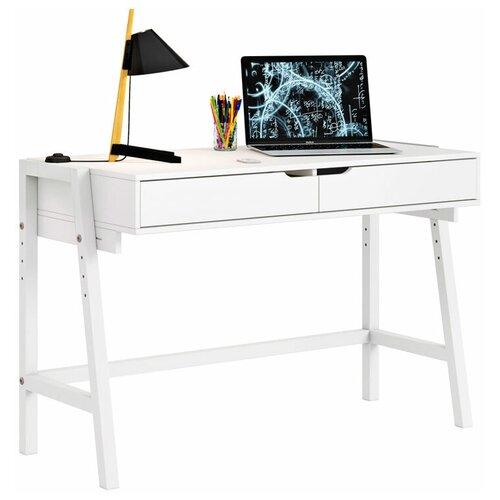 Письменный стол Polini kids Mirum 1440, ШхГ: 128х60 см, цвет: белый