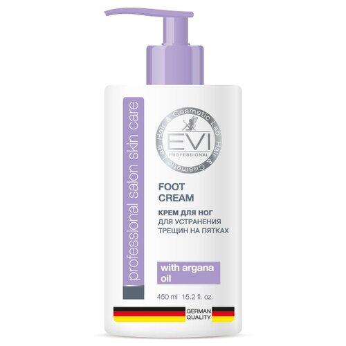 EVI professional Крем для ног для устранения трещин на пятках 450 мл бутылка