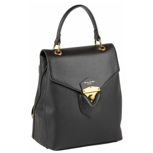 6226-2 BLACK Рюкзак женский David Jones