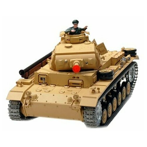 Танк Heng Long DAK PzKpfw IV Ausf F-1 (3858-1PRO) 1:16 40.3 см бежевый танк heng long dak pzkpfw iv ausf f 1 3858 1pro 1 16 40 3 см бежевый