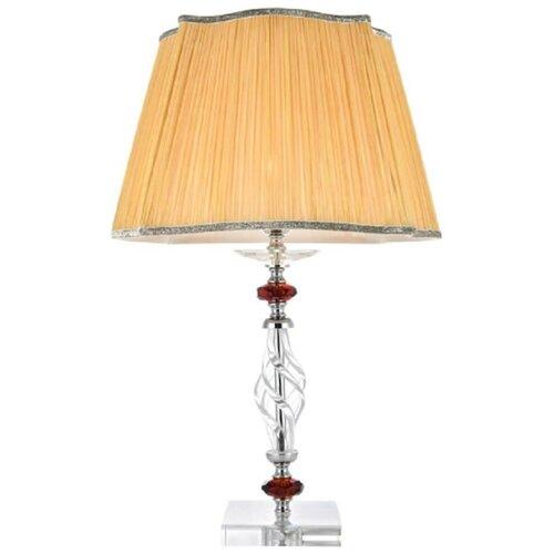 Настольная лампа Crystal Lux Catarina LG1 Gold/Transparent-Cognac недорого