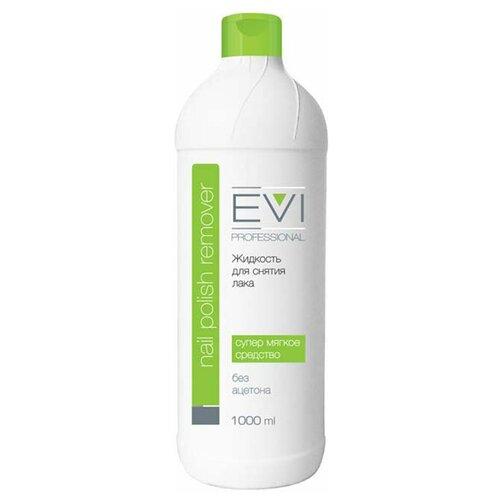 Купить EVI professional Жидкость для снятия лака без ацетона 1000 мл