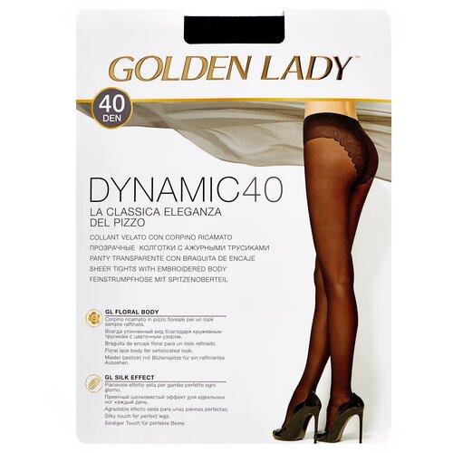 Колготки Golden Lady Dynamic, 40 den, размер 3-M, nero (черный) колготки golden lady microglam 70 den размер 3 m nero черный