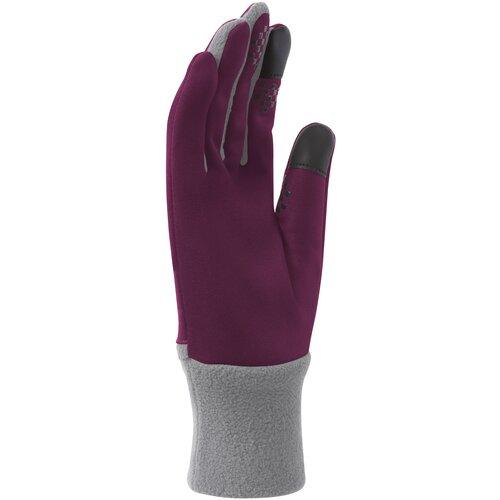 Женские перчатки для бега NIKE WOMEN'S ELEMENT THERMAL RUN GLOVES S FUCHSIA FORCE/COOL GREY nike кроссовки женские nike wmns renew run 2 размер 37