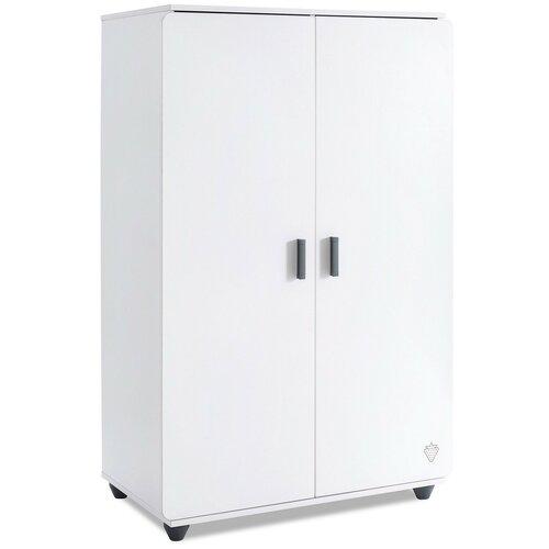 Шкаф для детской Cilek 20.54.1004.00, (ШхГхВ): 90х55х140 см, белый матовый
