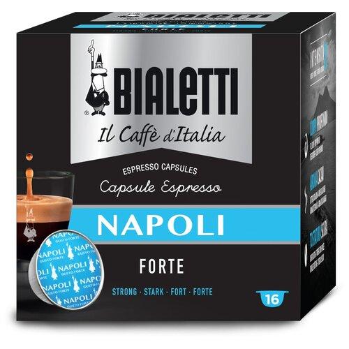 Кофе в капсулах Bialetti Napoli, 16 капс. кофе в капсулах для кофемашин nespresso bialetti napoli 10шт