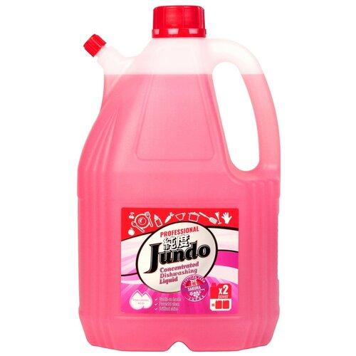 Jundo средство для мытья посуды и детских принадлежностей с гиалуроновой кислотой Sakura, 4 л гель для мытья посуды и детских принадлежностей jundo sakura с гиалуроновой кислотой концентрат 1 л