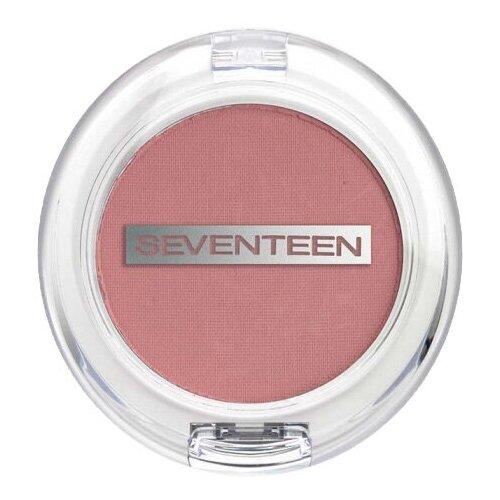Seventeen Румяна компактные Natural Matte Silky Blusher 01 Pale Rose