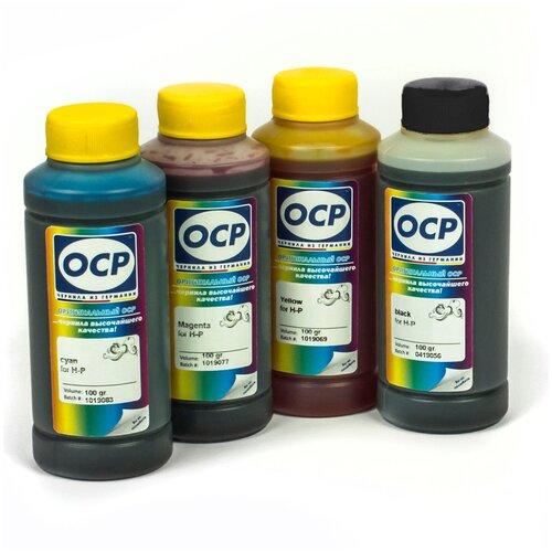 Фото - Чернила (краска) OCP для картриджей HP: 655 принтеров 3525, 3520, 4615, 4625, 5525, 6525, 3625 SafeSet 100x4 чернила hp 655 hp655 для hp deskjet 3525 5525 6525 4615 4625 набор 9 предметов инструкция совместимые