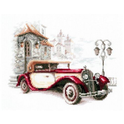 Чудесная Игла Набор для вышивания Ретро автомобиль Кадиллак, 20 x 16 см, (110-022)