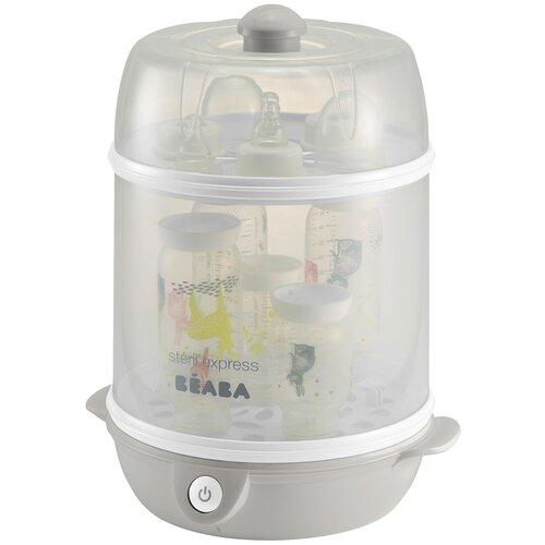 Электрический стерилизатор BEABA Steril'Express, серый/белый электрический стерилизатор momert 1700