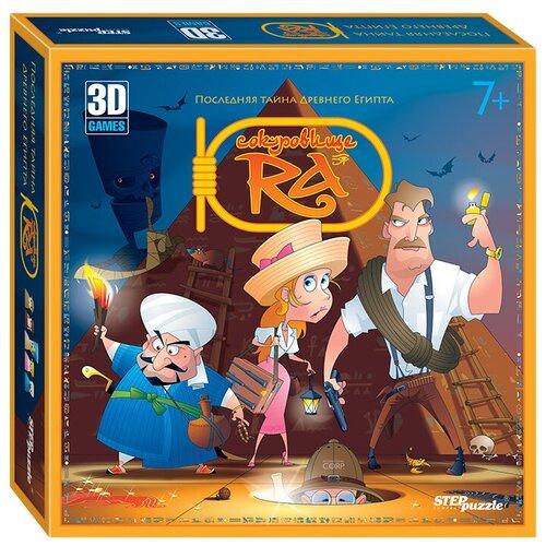 Фото - Настольная игра Step puzzle Сокровище Ра настольная игра step puzzle лесное царство