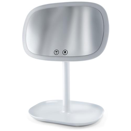 Зеркало косметическое настольное Lucia EL500 с подсветкой белый