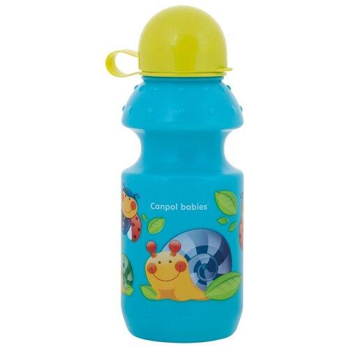 Фото - Поильник спортивный Canpol babies 360 мл, 12+ месяцев, цвет: бирюзовый (250989453) поильник непроливайка canpol babies 4 113 360 мл бирюзовый