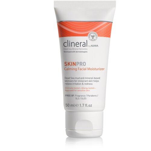 Фото - Clineral Skinpro Calming Facial Moisturizer Успокаивающий увлажняющий крем для лица, 50 мл dr ceuracle увлажняющий крем для лица с пробиотиками pro balance biotics moisturizer 100 мл