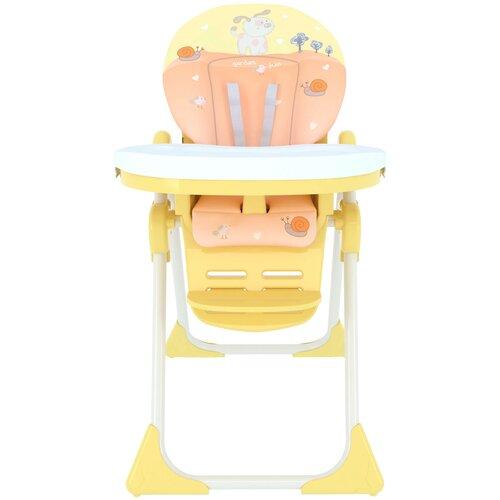 стул для кормления globex космик new белый Стульчик для кормления GLOBEX Космик, оранжевый