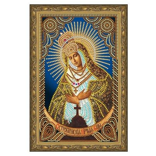 Купить Алмазная живопись иконы Color Kit Остробрамская Пресвятая Богородица 20х30, Алмазная вышивка