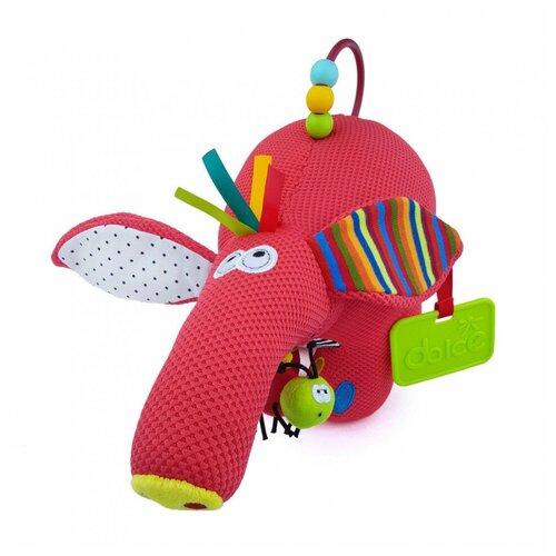 Игрушка развивающая Dolce Муравьед 95111 развивающая игрушка dolce попугайчик бело красно голубой