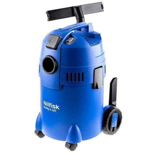 Профессиональный пылесос Nilfisk BUDDY II 18 T EU, 1200 Вт, синий