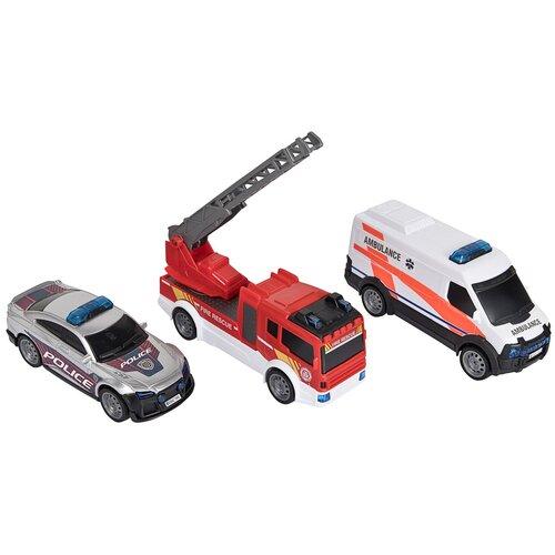 dickie toys набор dickie toys команда спасения sos Набор машин Dickie Toys Команда спасения SOS (3712015)