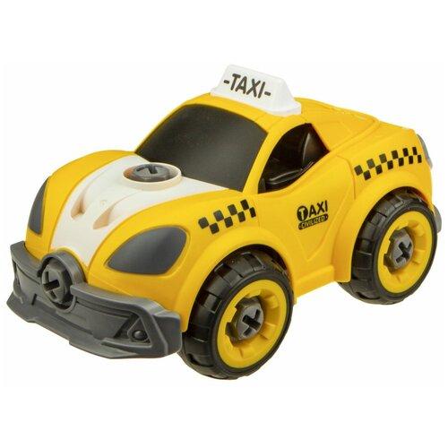 Купить Машинка 1 TOY Сити сервис (Т16966) 18 см желтый, Радиоуправляемые игрушки