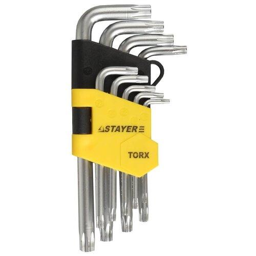 Фото - Набор имбусовых ключей 9 предметов TX 10-50 Stayer MASTER 2743-H9 набор насадок для гравера stayer master 186 предметов 29900 h186
