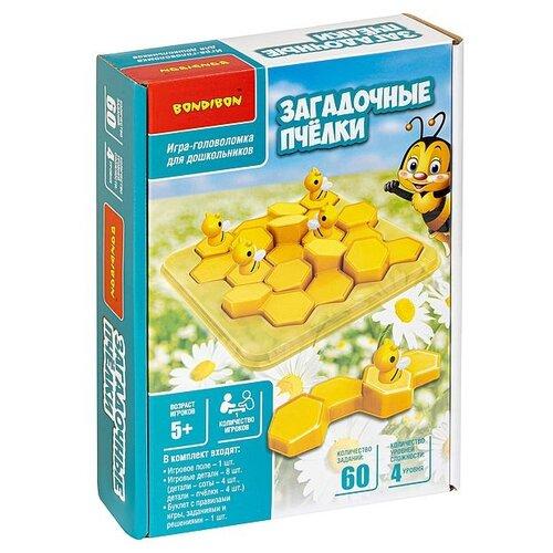 Купить Логическая игра Bondibon Загадочные пчёлки, арт.XS977-30. Bondibon ВВ4994, Настольные игры