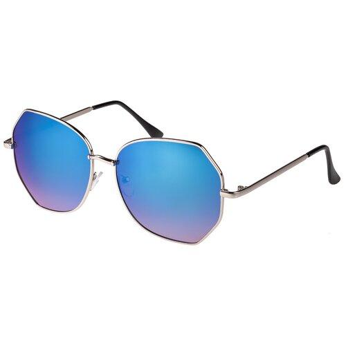 Солнцезащитные очки женские/Очки солнцезащитные женские/Солнечные очки женские/Очки солнечные женские/21kdgann901003c6vr синий,черный/Vittorio Richi/Прямоугольные/модные