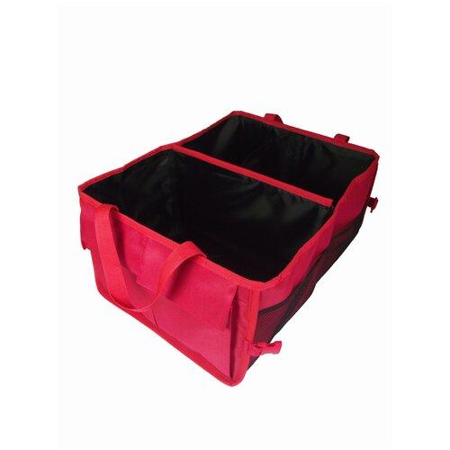 Органайзер для автомобиля в багажник мелкий красный