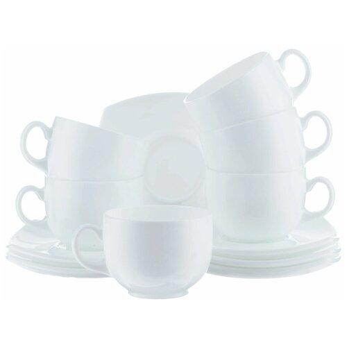 Фото - Чайный набор КВАДРАТО 220мл белый чайный набор luminarc брашмания оранж 12 предметов 220мл p8984