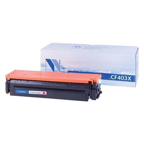 Фото - Картридж лазерный NV PRINT (NV-CF403X) для HP M252dw/M252n/M274n/M277dw/M277n, пурпурный, ресурс 2300 страниц картридж nv print ce263a пурпурный для hp cp4520 cp4525