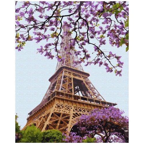 Купить Картина по номерам ВанГогВомне Очарование Парижа 40х50 см, ВанГогВоМне, Картины по номерам и контурам