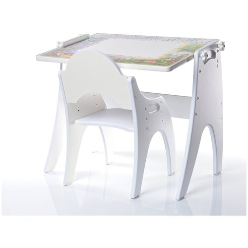 Набор детской мебели Тех Кидс Трансформер День-Ночь Белый Матовый