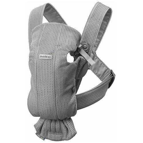 Фото - Рюкзак-переноска BabyBjorn Mini 3D Mesh, grey эргорюкзак babybjorn move mesh navy blue