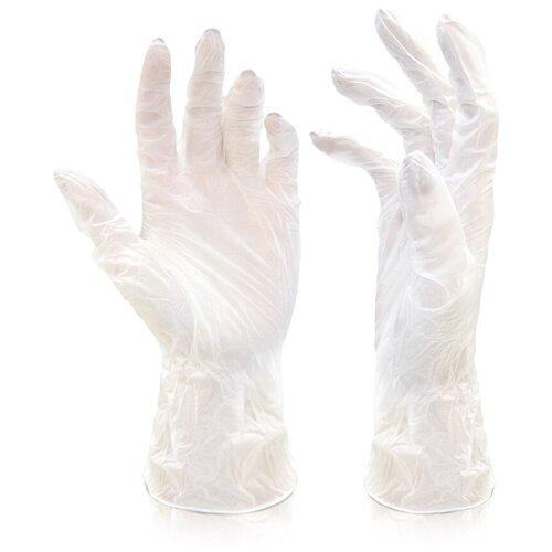 Перчатки Dora универсальные 2004-002, 5 пар, размер M, цвет прозрачные блуза dora dora mp002xw0z2us