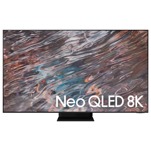 """Телевизор QLED Samsung QE75QN800AU 74.5"""" (2021) нержавеющая сталь"""