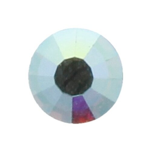 Купить Стразы клеевые PRECIOSA Crystal AB, 4, 7 мм, стекло, 144 шт, в пакете, перламутр (438-11-612 i), Фурнитура для украшений