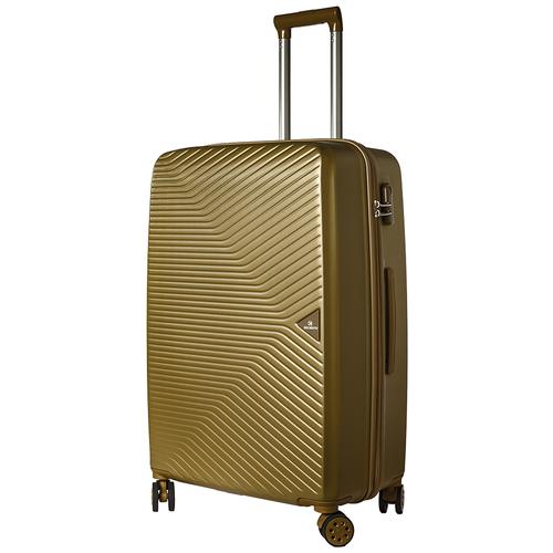 Турецкий чемодан Delvento модель Prism Bronze 78 см, 98л